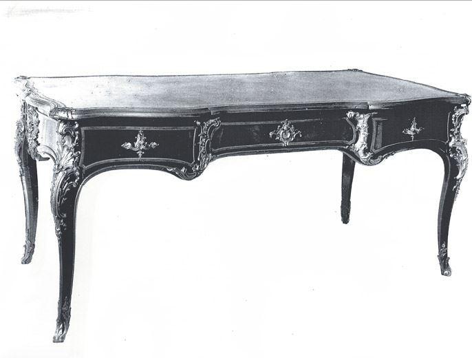 Writing desk - Louis XV