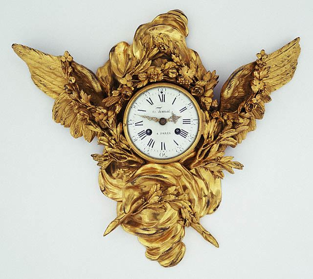 Cartel-clock - Louis XVI