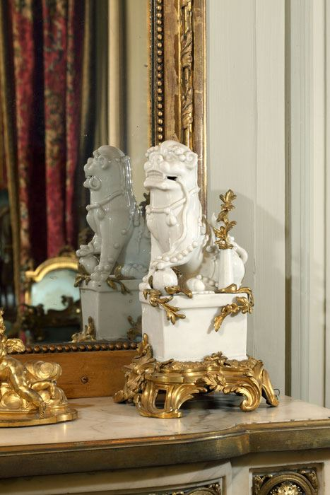 "Pairs of ""Fo"" dogs - Louis XV"