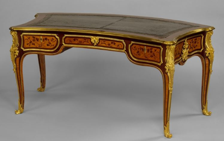 Arched desk - Louis XV