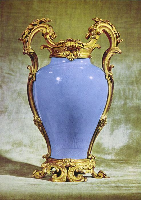 A pair of vases - Louis XV