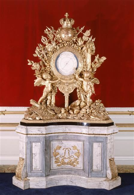 Grand baromètre - Louis XV